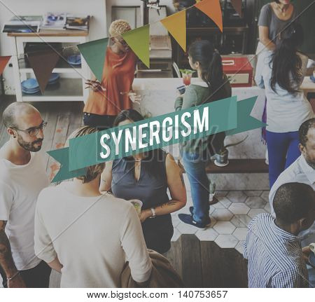 Synergy Corporation Interaction Synergism Concept