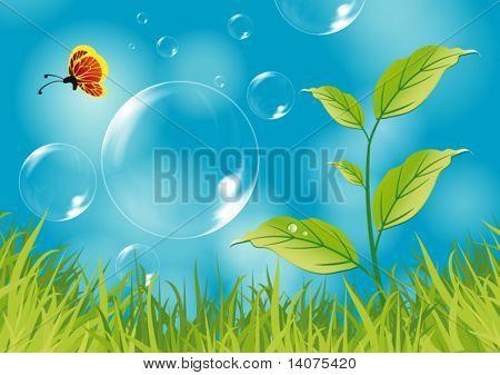 dream nature illustration