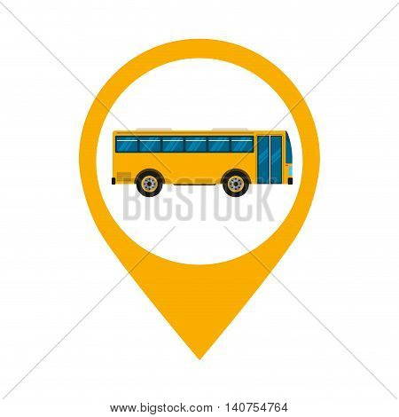 bus truck public car icon vector illustration design