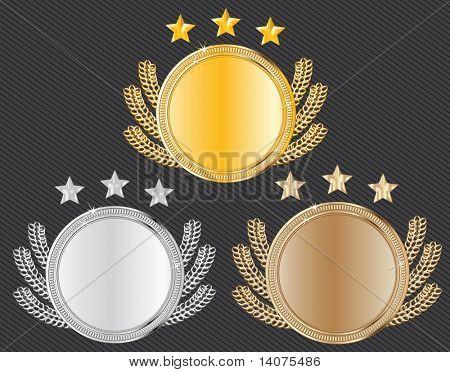 vector award medals