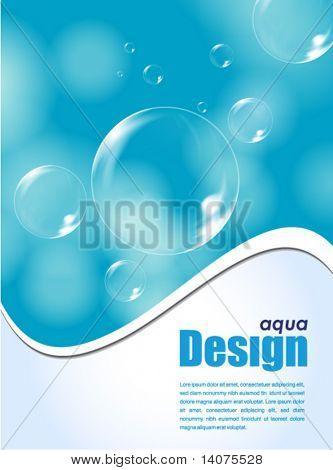 aqua design background