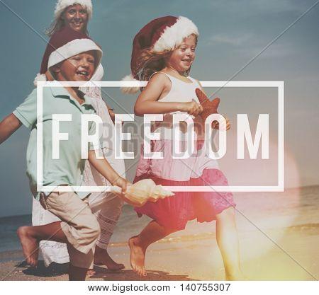 Freedom Emancipated Human Rights Liberty Concept