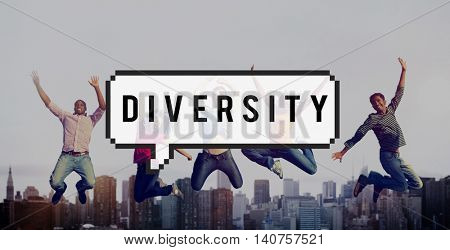 Diversity People Society Mixture Race Concept