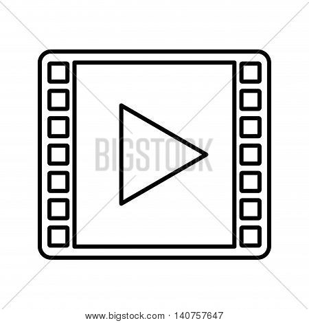 play player button icon vector illustration design