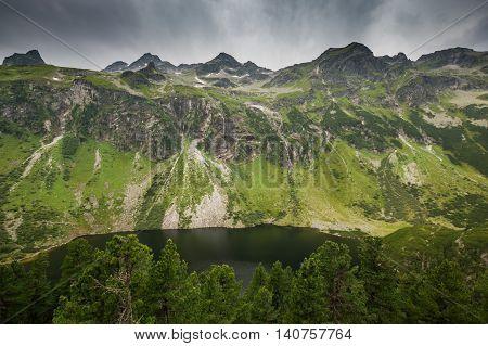 Grunsee - Green lake in National park Hohe Tauern in Austrian Alps Austria