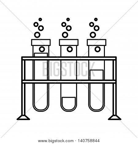 tube test glass icon vector illustration design