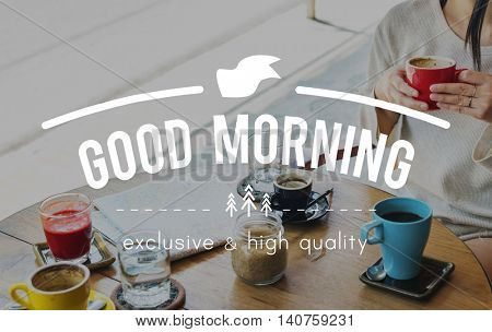 Good Morning Beginning Startup New Dawn Concept