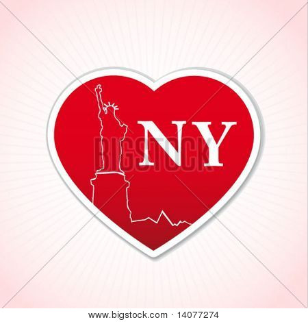 new york love sign