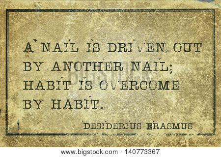 Habit By Habit Erasmus