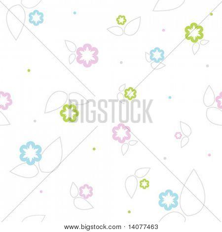 Patrón floral Vector