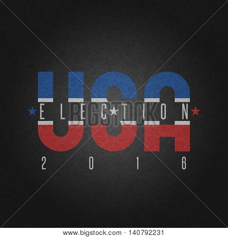Usa Presidential Election Poster, Elections Campaign Candidate President United States America Backg