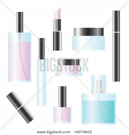 Satz von Kosmetik