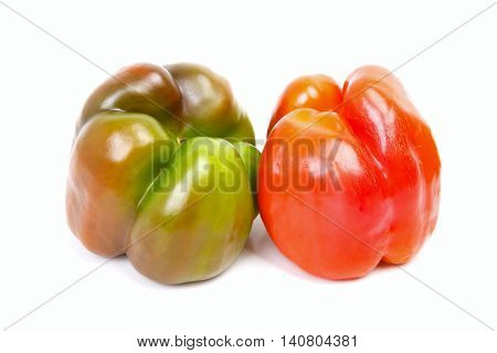 Two Ripe Peppers