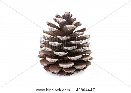 A Gray cone isolated on white background