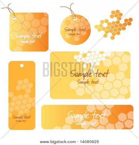Honey backgrounds