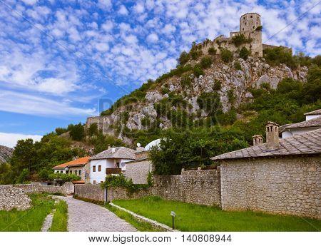 Pocitelj - Bosnia and Herzegovina - architecture travel background