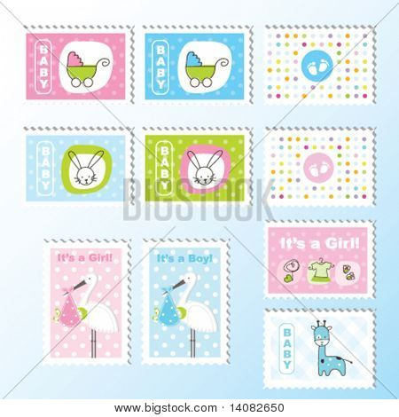 Baby stamps
