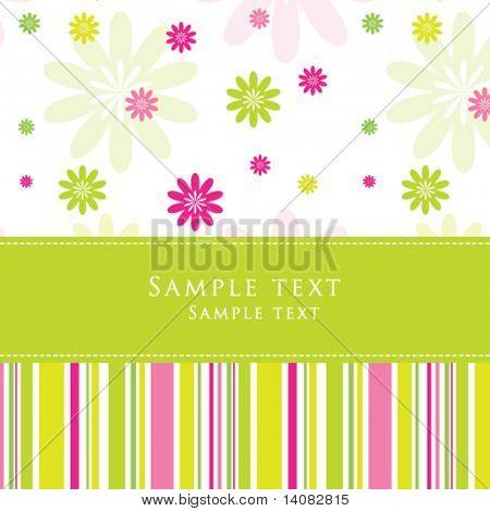 Grußkarte mit textfreiraum