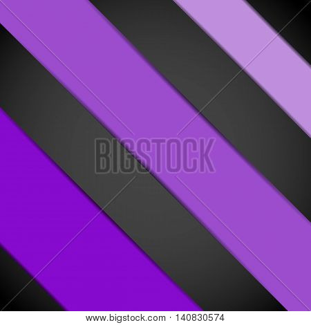 Violet paper template abstract background, stock vector