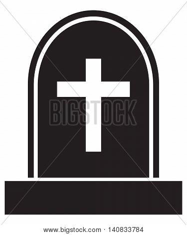 graveyard skull cross coffin death rest in peace dead cross shape