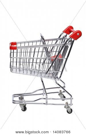 Shopping Cart (Isolated)