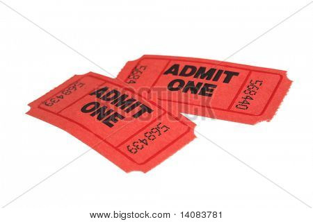 Pair of Tickets (Isolated)