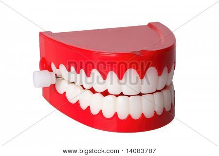 Chattering Teeth (Isolated)