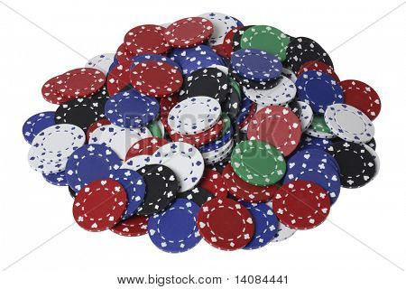 Pile of Poker Chips