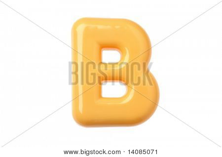 Plastic Toy Letter B