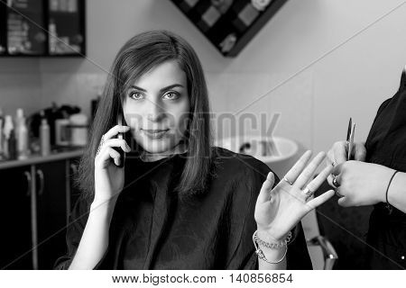Business Woman Speaks