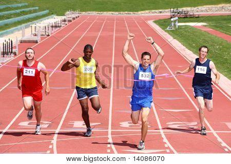 Track-Ziellinie