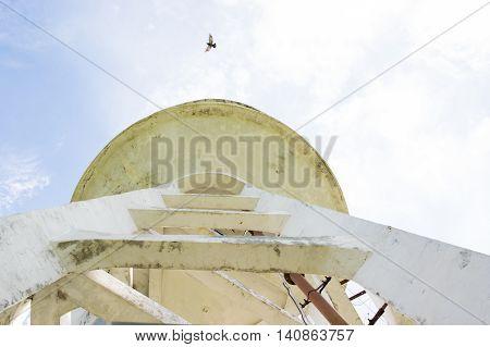 Water Tank Tower, abandon Water Tank Tower