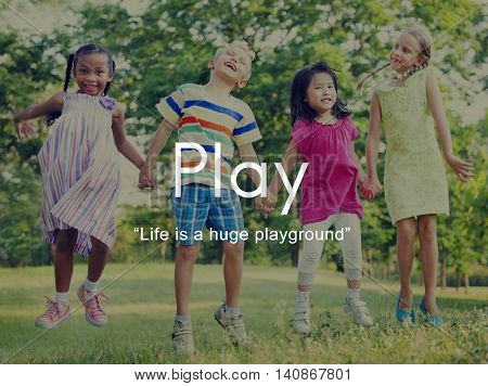 Play Playful Fun Leisure Activity Joy Recreational Pursuit Concept