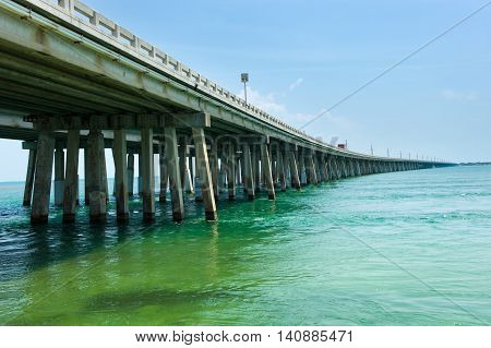 Interstate Highway 1 on the Florida Keys