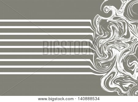 Marble texture, with effect wet stone. Background craft watercolor oil. liquid metal. Design wave illustration painting