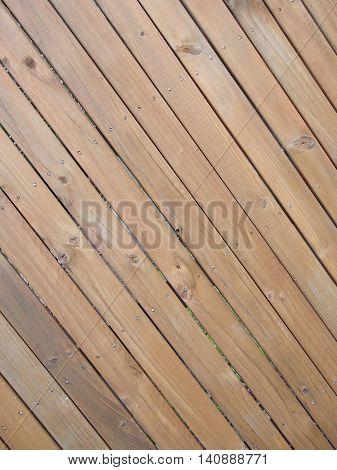 Timber slat background dramatic angled up right Melbourne 2016