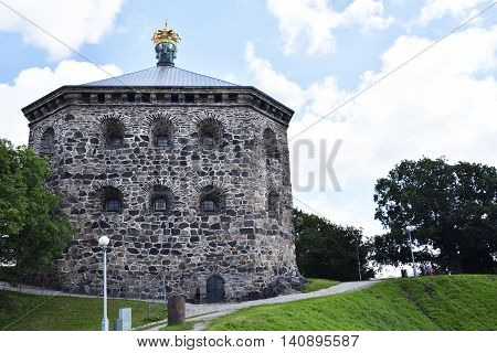 Old fortres (skansen kronan) from Gothenburg Sweden