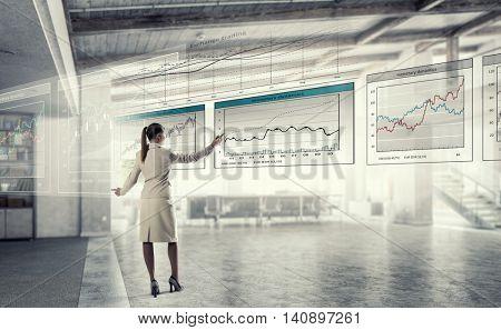 Sales dynamics report  . Mixed media