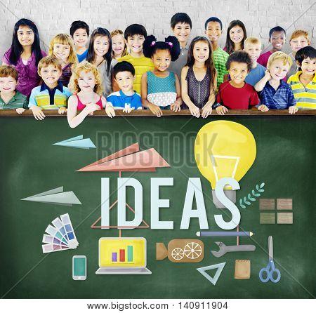 Ideas Proposition Strategy Suggestion Tactics Concept