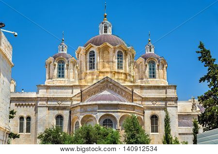The Holy Trinity church in the Russian Compound of Jerusalem - Israel