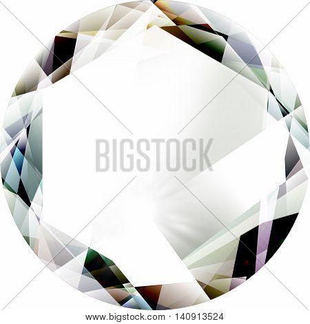 gem jewel diamond illustration isolated on a white background