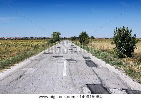 Serbia Road Damage