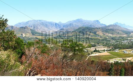 Franchhoek Valley, Western Cape South Africa 01b
