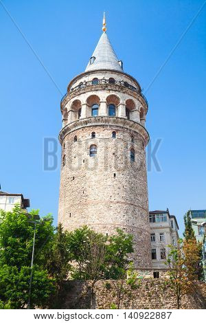 Galata Tower, Landmark Of  Istanbul