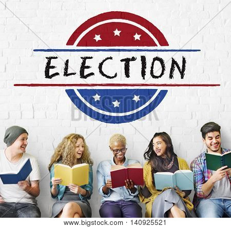 Election Vote Democracy Referendum Graphics Concept