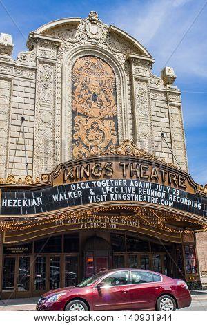 Kings Theatre In Brooklyn, New York City