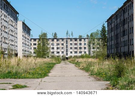 Old Abandoned Military Town