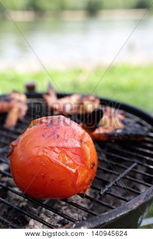 Tomato Bake On The Grill