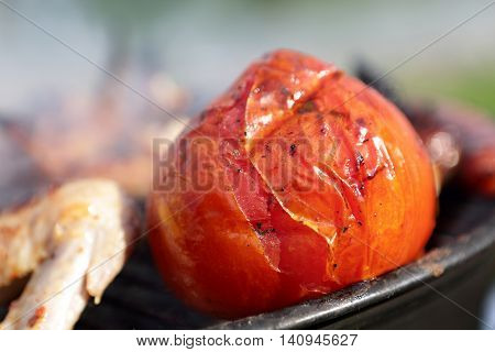 Cooking Tomatoes On The Grill