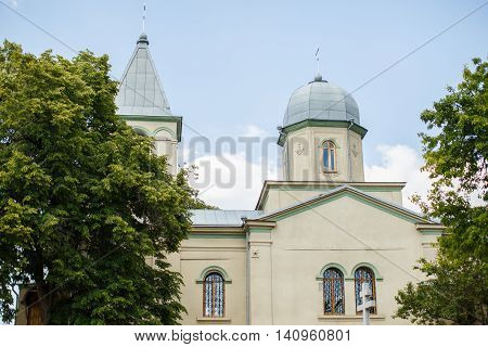 Orthodox Chapel Or Church Old Architectural Building